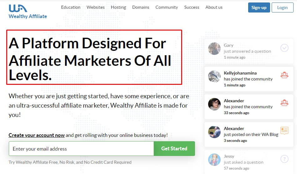 History of Wealthy Affiliate